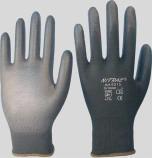Nylonhandschuhe schwarz - 6215
